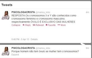 """PSICÓLOGA CRISTÃ DANDO AULA DE ANATOMIA NO TWITTER: """"ÓVULO É EXCLUSIVO DAS MULHERES"""""""